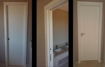 Porta Lacada Branco 4RV